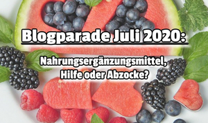 Blogparade 2020 Juli