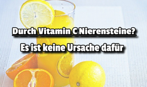 Vitamin C Nierensteine